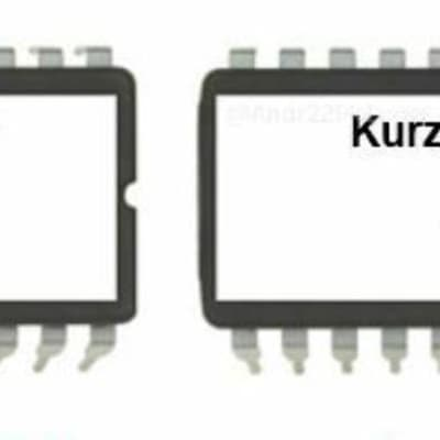 KURZWEIL K2VP Setup Eproms V6 - for K2000 K2000S K2000R K2000RS