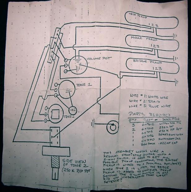 Lipstick Guitar Pickup Wiring Diagrams - Wiring Diagrams on