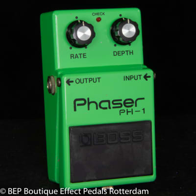 Boss PH-1 Phaser s/n 8200 Silver Screw Long Dash Clear Switch 1979 Japan