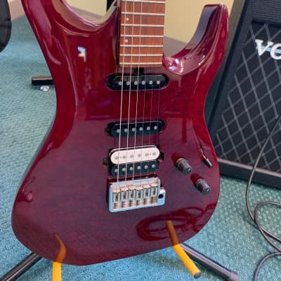 US Masters Guitar Works Vector ?? Candy Apple Red for sale