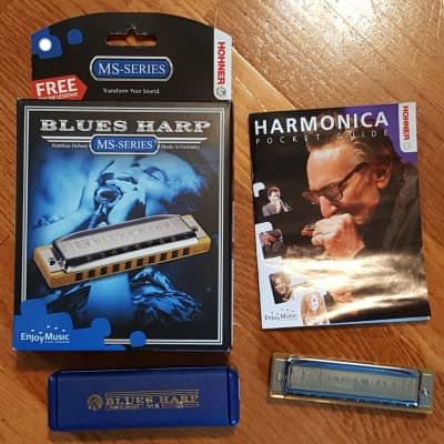 Hohner Blues Harp Key of Bb