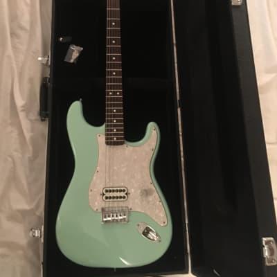 2002 Surf Green Tom Delonge Fender Stratocaster w/ Hardshell for sale