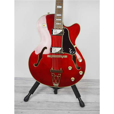 Epiphone Joe Pass Emperor-II PRO, Wine Red, B-Stock for sale