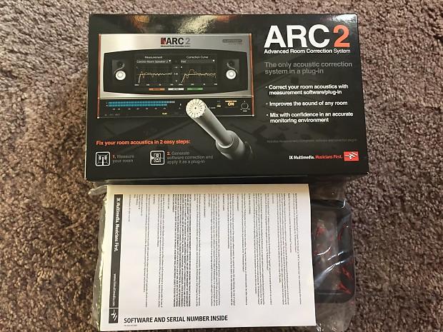 IK Multimedia ARC 2 Room Correction software & measurement microphone -  Includes license transfer