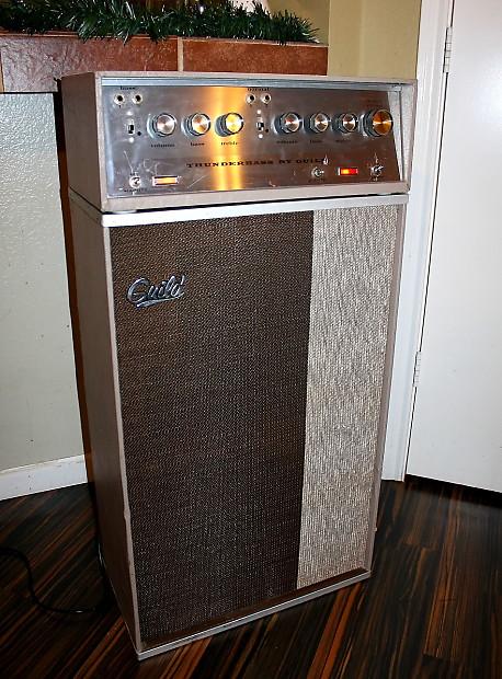 guild thunderbass bass guitar combo amplifier head cab reverb. Black Bedroom Furniture Sets. Home Design Ideas