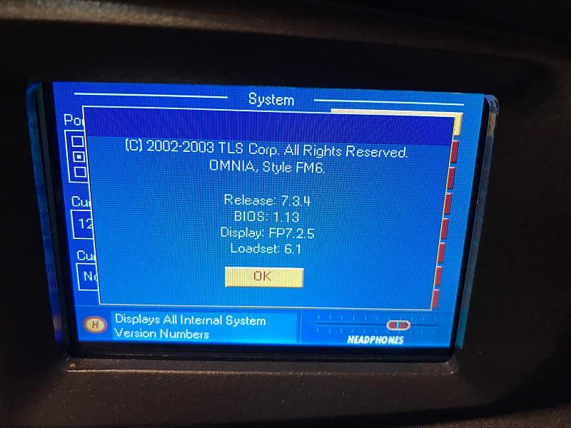 Telos Omnia 6 EX HD + FM   Brodcast Digital Audio Processor