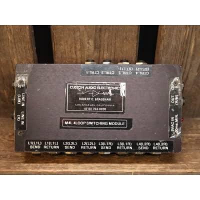 Custom Audio Electronics CAE M4L 4 Loop Switching Module *rare*