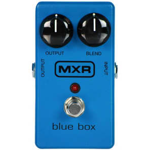 MXR M103 Blue Box Octave Fuzz Pedal for sale