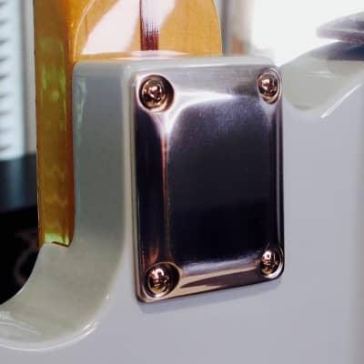 Bensonite Neck Plate - Polished Aluminum for sale