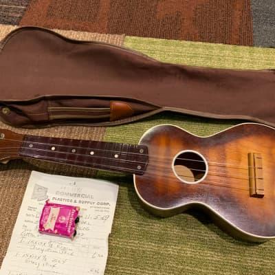 Harmony Ukulele Soprano with Case and 1969 Receipt for sale