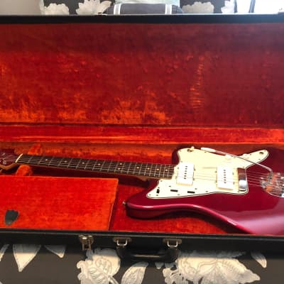 Fender Jazzmaster Candy Apple Red Early 1964   I am the original owner.