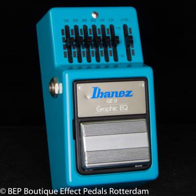 Ibanez GE-9 Graphic Equalizer 1984 Japan s/n 405007