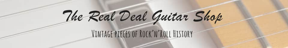 The Real Deal Guitar Shop