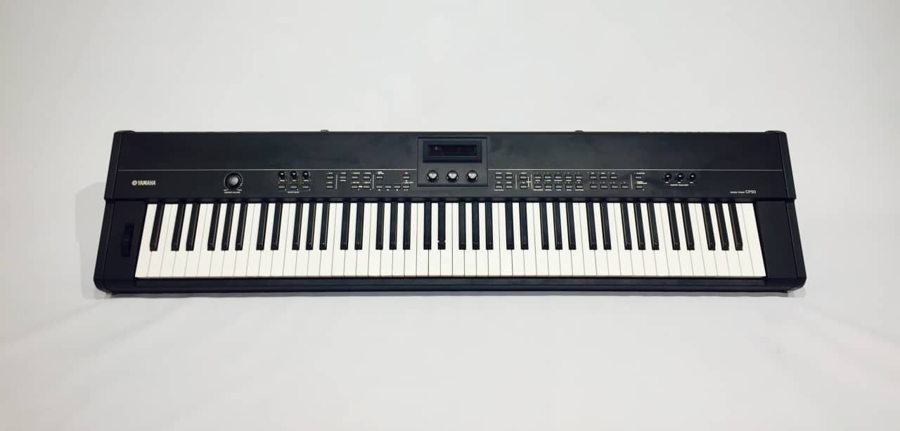 Yamaha cp50 professional stage piano reverb for Yamaha cp50 review