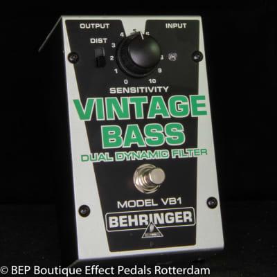 Behringer VB1 Vintage Bass Dual Dynamic Filter 2009 s/n S0700186505