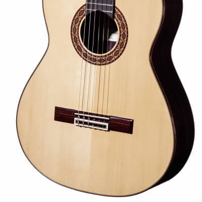Spanish Classical Guitar HERMANOS SANCHIS LOPEZ 1B/S - all solid - spruce top + Softcase for sale