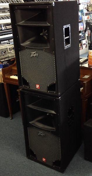 peavey sp3 speakers black widow loudspeakers pair 1 pair reverb. Black Bedroom Furniture Sets. Home Design Ideas