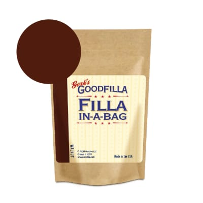Walnut - Wood and Grain Filler Powder: Repairs, Finishes, Patches (12 oz)