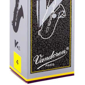 Vandoren SR624 V12 Series Tenor Saxophone Reeds - Strength 4 (Box of 5)
