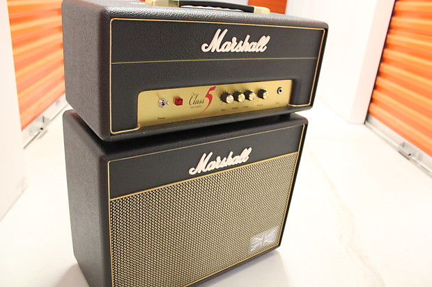 Marshall Class 5 (made in England) Amplifier with Marshall 1 | Reverb