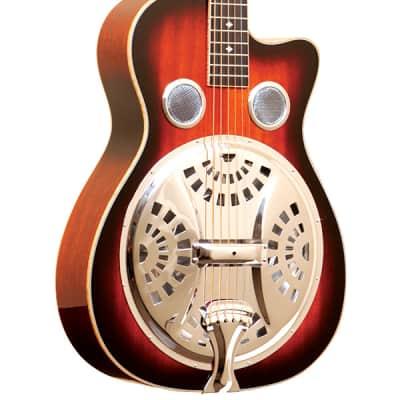 Gold Tone PBR-CA Paul Beard Signature Series Roundneck Resonator Guitar w/Cutaway & Hardshell Case for sale