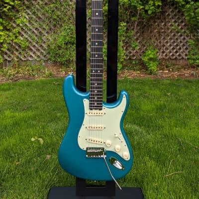 Fender American Elite Stratocaster / SSS / Ocean Turquoise w/ Ebony