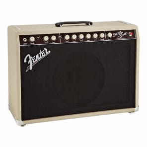 FENDER Super Sonic 22 Combo Tube Guitar Amp 22W Blonde w/4-Button Footswitch for sale