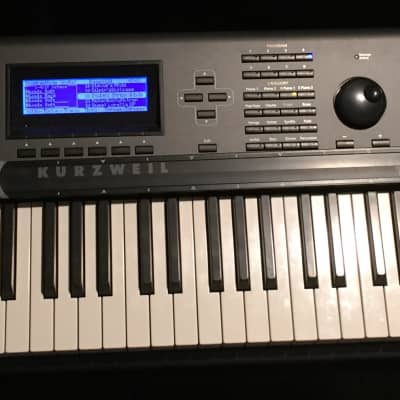 Kurzweil PC3K8 88-Key Production Station Keyboard with Kore64 and Ribbon controller