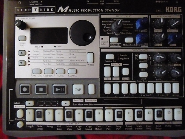 Korg Electribe EM1 Music Production Station   TLCFX
