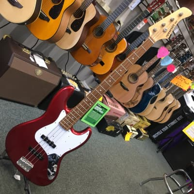 Fernandes Jazz Candy Apple Red for sale