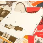 Genuine Fender '75 Jazz Bass White Pickguard, WBW 3-Ply 0055232000 NEW! J '70s image