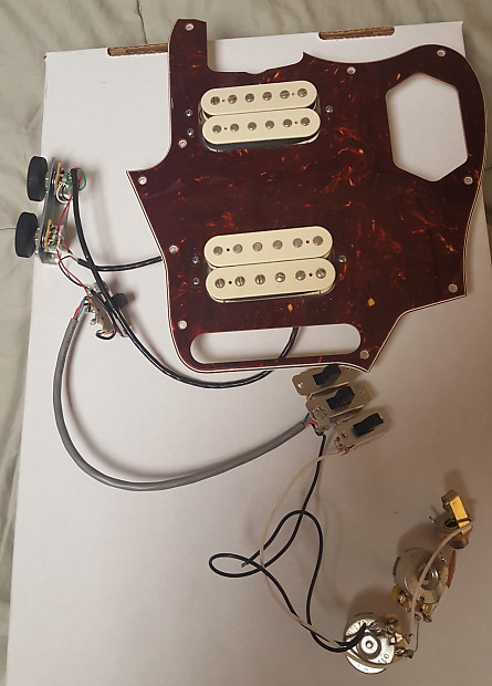 Fender Classic Player Jaguar HH Loaded Pickguard Tortoise | | ReverbReverb