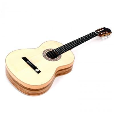H̦fner HÌÐFNER HGL5 4/4 Konzertgitarre / Klassikgitarre Green Line for sale
