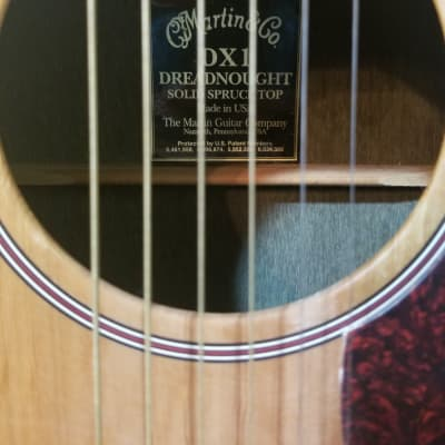 Martin DX1 Dreadnought 2003 Solid Spruce