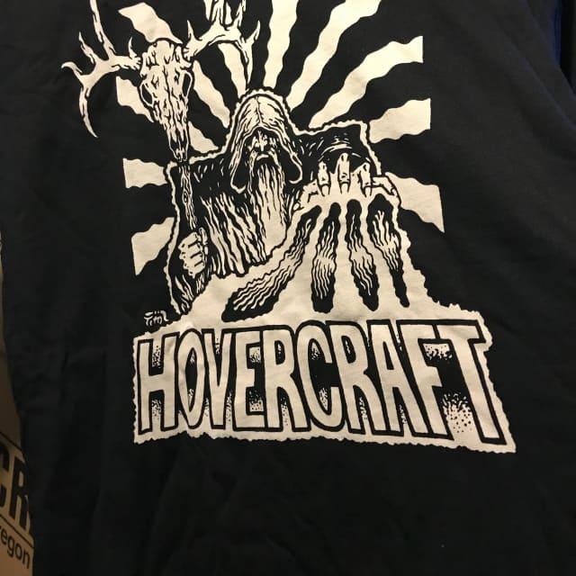 Hovercraft Caribou Wizard T Shirt - Small - free ship USA 2018 Black image