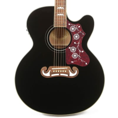 Epiphone EJ-200SCE Acoustic-Electric Black for sale