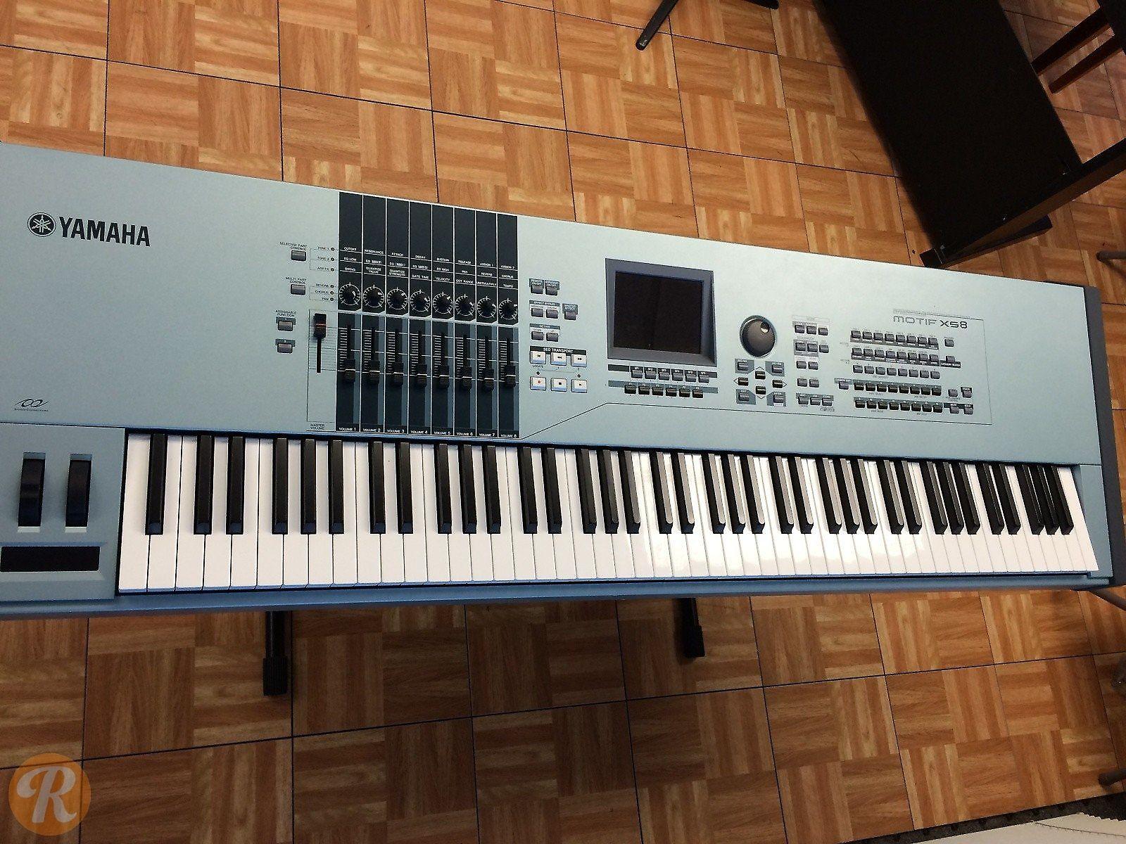 Yamaha Motif XS 8 Workstation | Reverb