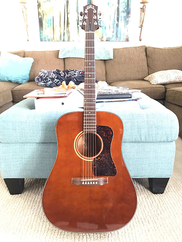 1987 Guild D-25M Acoustic Guitar Westerly Made - Mint | Reverb