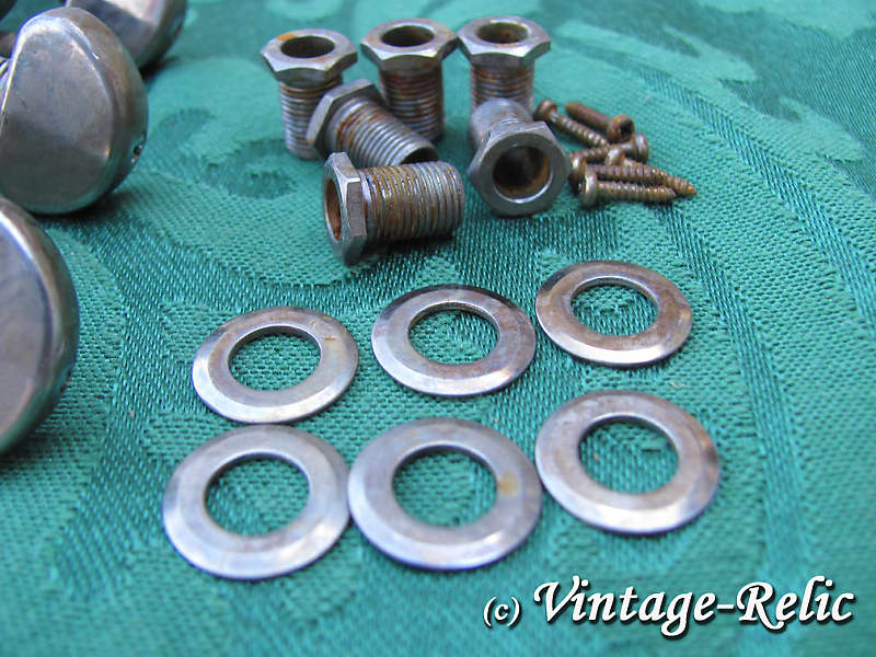 aged GROVER nickel 102-18N 18:1 Rotomatic tuners RELIC 4 Les Paul 335 SG