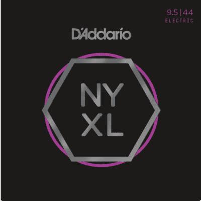D'Addario NYXL09544 Nickel Wound Super Light Plus Electric Strings 9.5-44