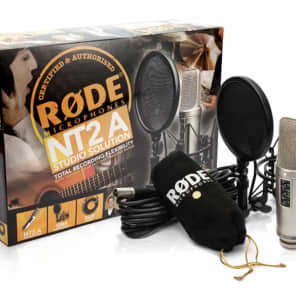 Rode NT2-A Studio Solution Pack, inc suspension, pop filter, cable