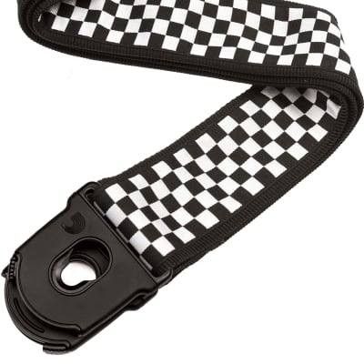 Planet Waves 50PLC02 Planet Lock Guitar Strap - Check Mate for sale