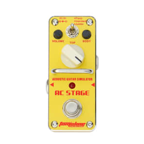 Tom's Line Engineering AAS-3 Ac Stage Acoustic Guitar Simulator Effects Pedal 2016