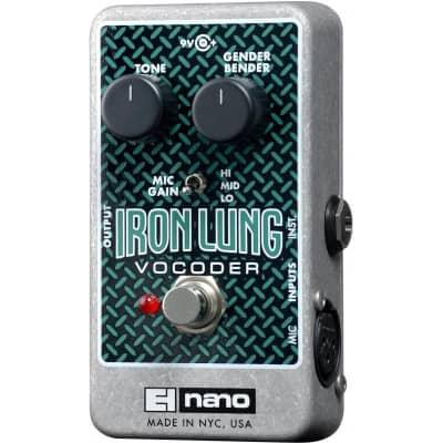 Electro-Harmonix Iron Lung Vocoder Pedal for sale