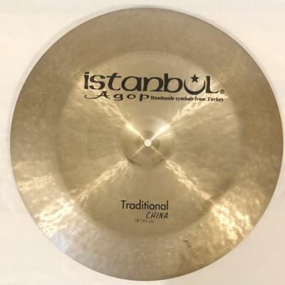 """Istanbul Agop 18"""" Traditional China"""