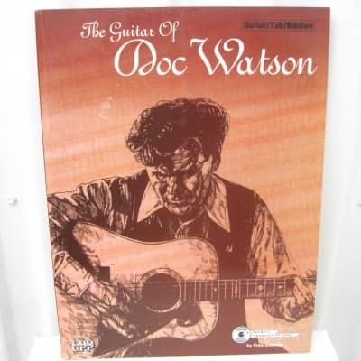 The Guitar of Doc Watson Sheet Music Song Book Songbook Guitar Tab Tablature