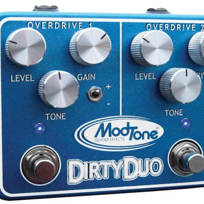 Modtone MT-DUO Dirty Duo Dual Overdrive Free Shipping