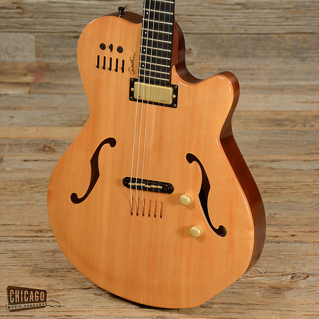 Godin Multiac Jazz Acoustic-Electric Natural USED (sI03 ...