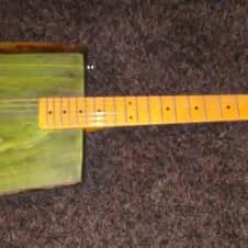 CHINGONAS Custom Built  Modern Players Jurassic Esquire  Green Tint