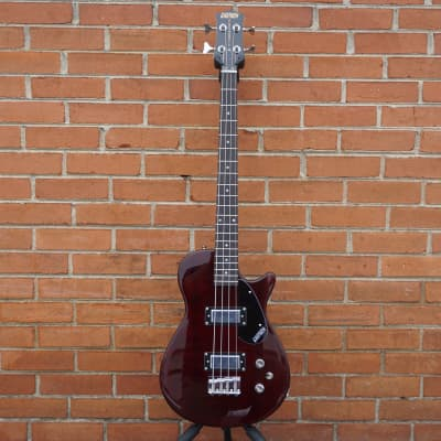 NEW 2021 Gretsch G2220 Electromatic Junior Jet Bass II Walnut Satin Short-Scale Electric Bass